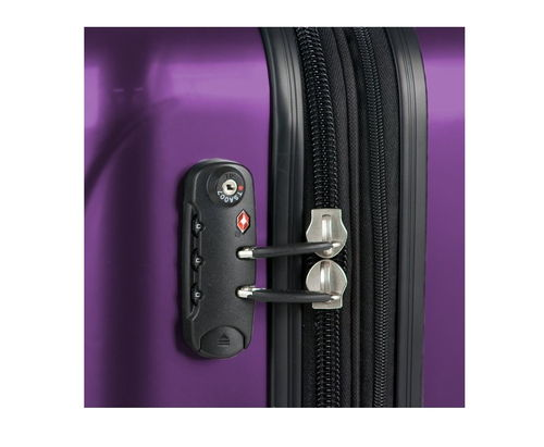 Delsey Luggage Helium Aero Expandable Spinner Trolley lock