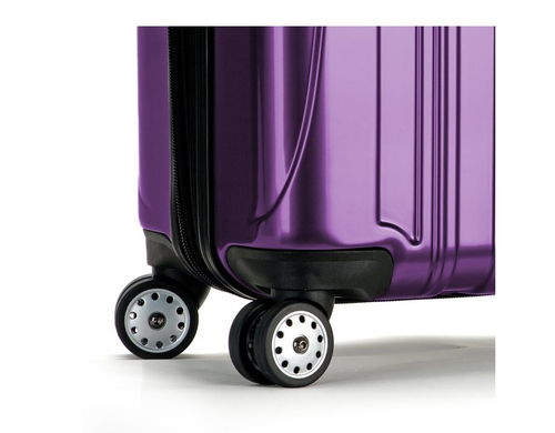 Delsey Luggage Helium Aero Expandable Spinner Trolley wheels