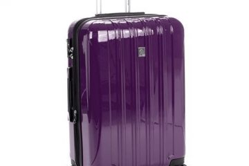 Delsey Luggage Helium Aero Expandable Spinner Trolleys side